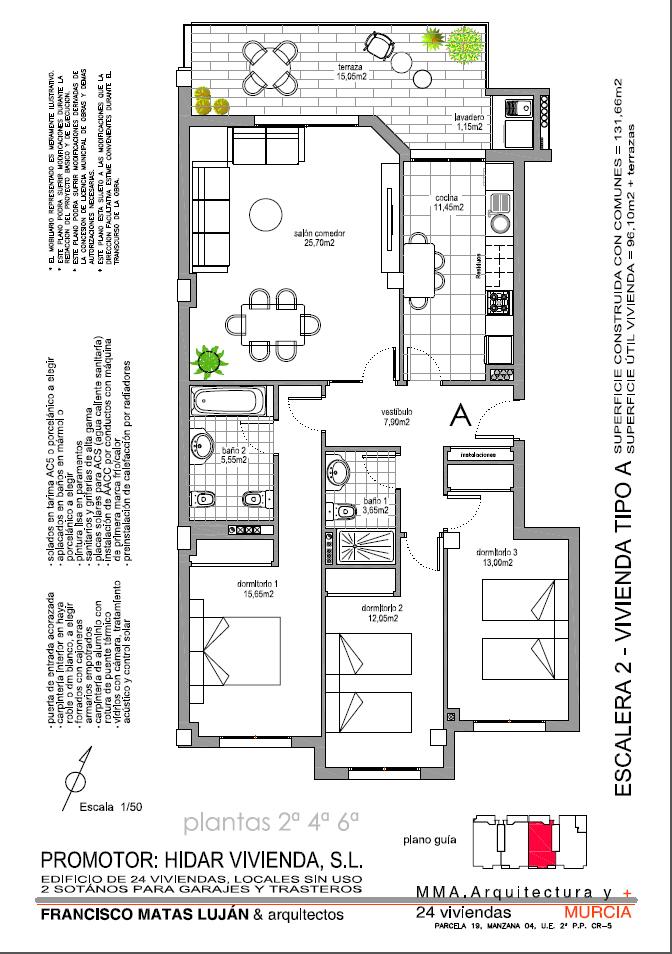 Planos 2d darma vivienda - Instalacion calefaccion radiadores ...